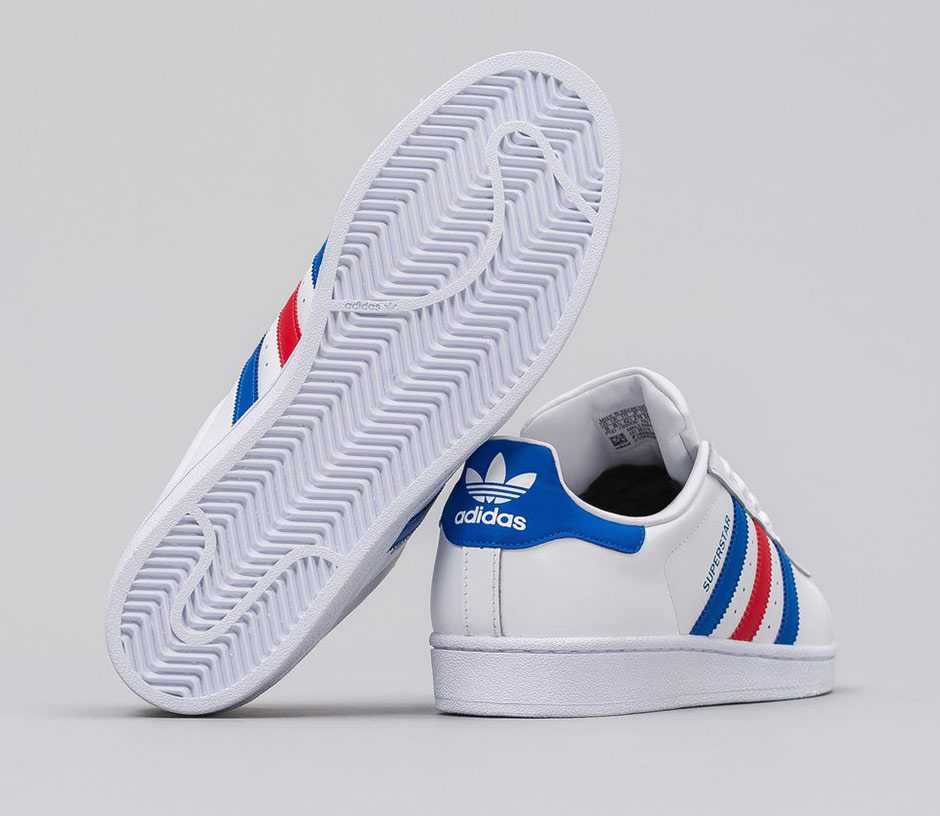 adidas superstar tricolor