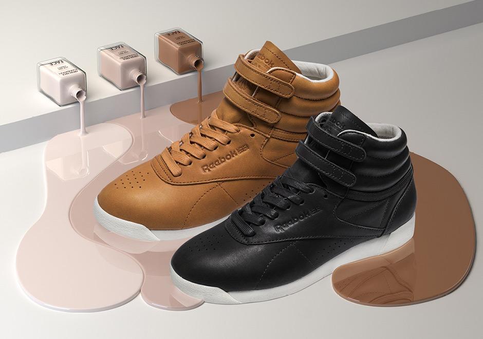 FACE Stockholm Reebok Freestyle Hi   SneakerNews.com