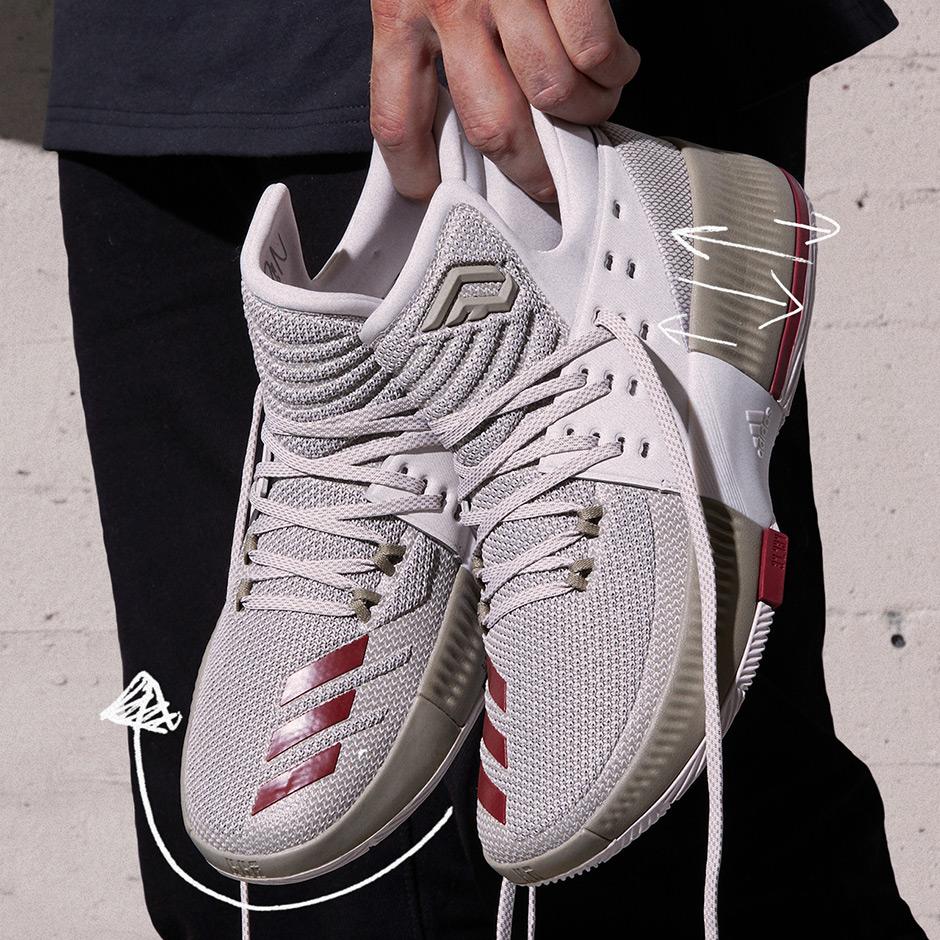san francisco 8db84 5e356 adidas Dame 3 West Campus  SneakerNews.com