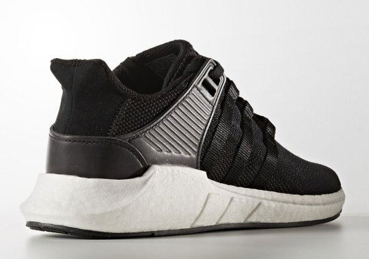 "The adidas EQT Support 93-17 Boost ""Core Black"" Releases In May"