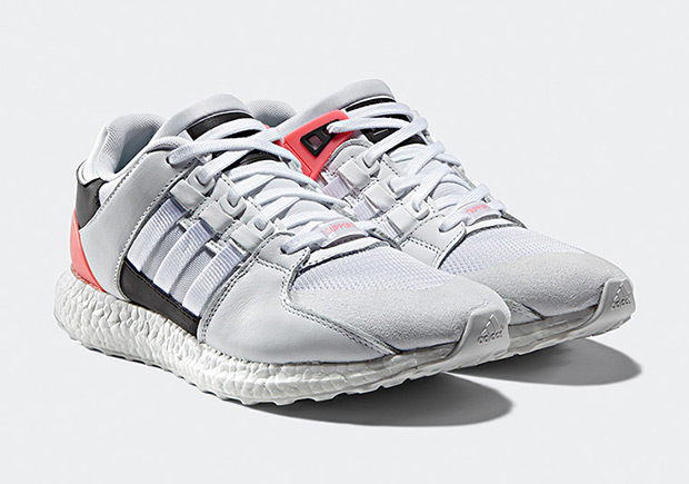 online store a0c72 e7be4 adidas EQT Support 9317 boost white pink red glitch camo
