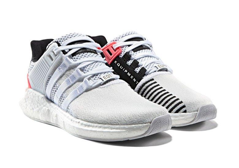 técnico Galantería flotador  adidas EQT Boost 93/17 White Turbo Red Release Date | SneakerNews.com