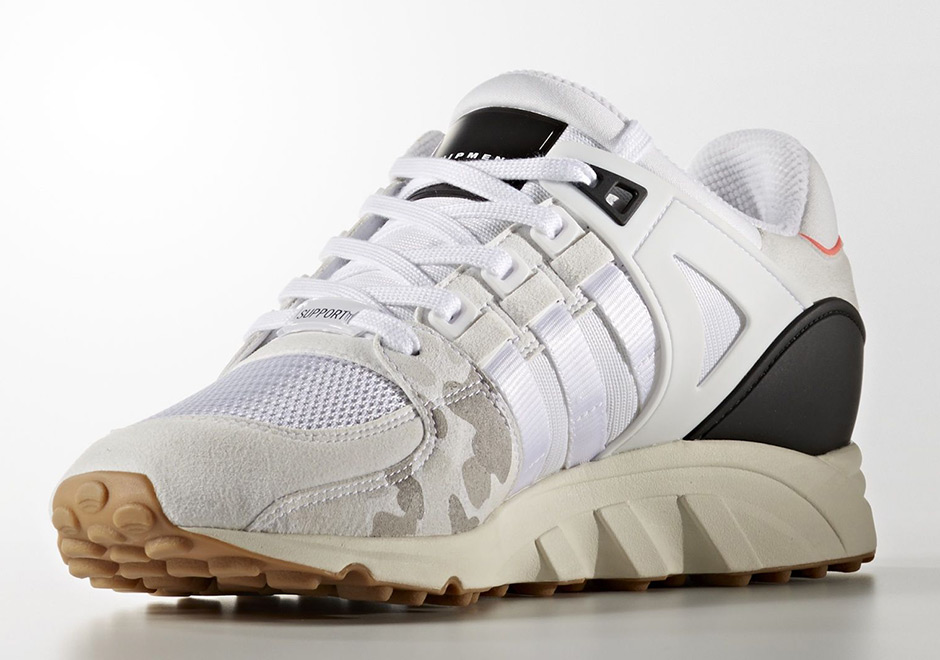 detailed look d2881 92afd The adidas EQT Support 93 Pairs Turbo Red With Camo Prints