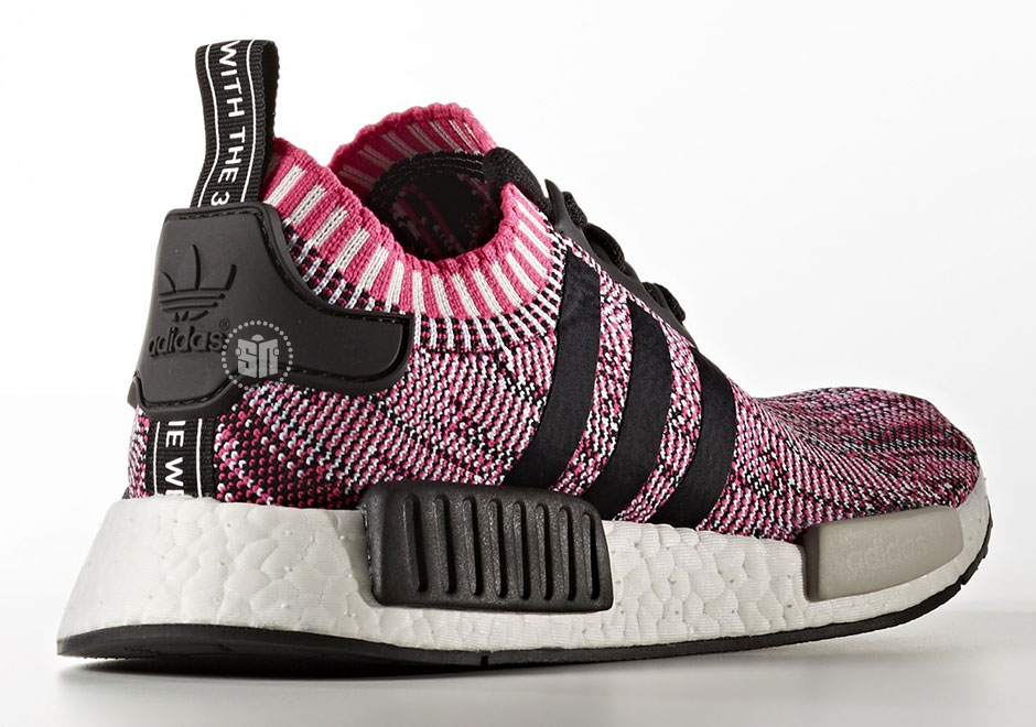 """a1fd6753fe29 adidas NMD R1 Primeknit """"Shock Pink"""" Release Date  April 20th"""