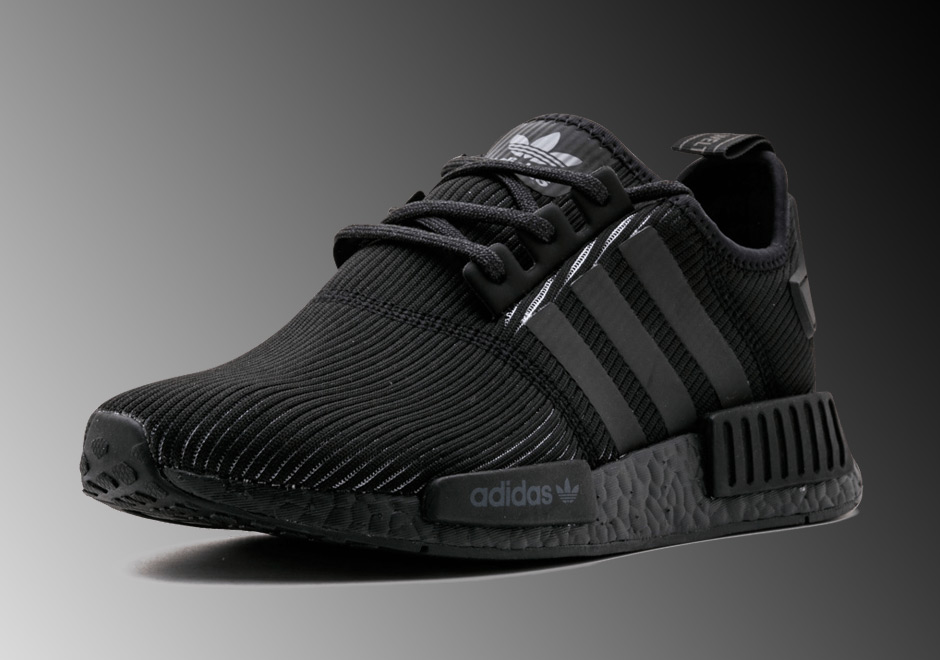 "Updated March 14th, 2017: The latest adidas NMD R1 ""Triple Black"" releases  with ribbed construction on Thursday, March 16th, 2017 for $140 at Foot  Locker."