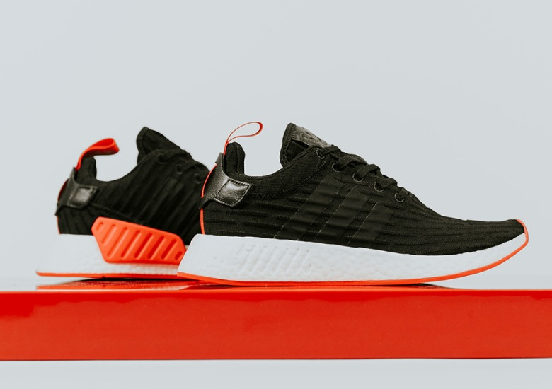 "c52820ed7 adidas NMD R2 ""Core Red"" Releasing In Black And White Options"