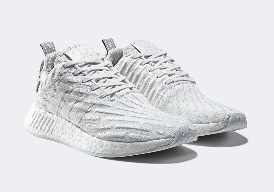timeless design 8c7fa d6319 adidas NMD R2 Triple White BY2245 | SneakerNews.com