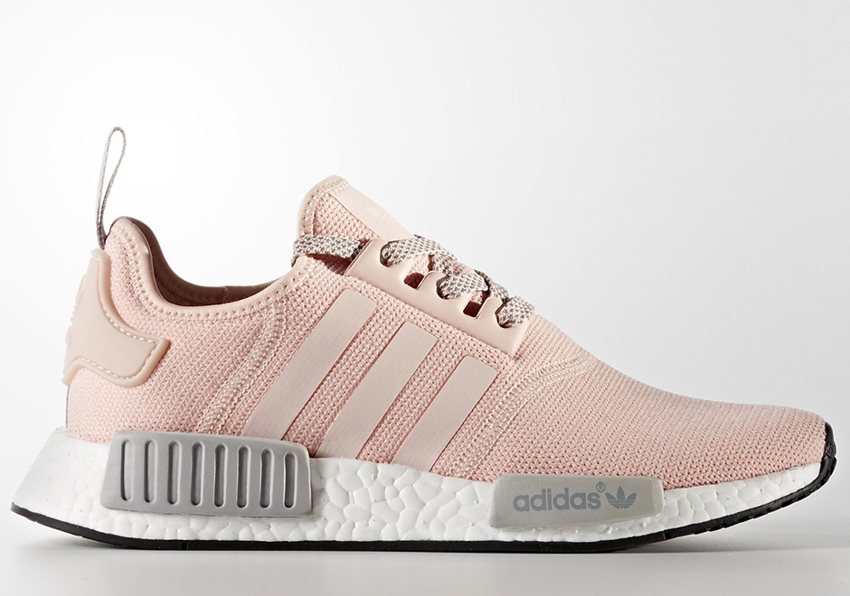 adidas shoes for girls new adidas nmd r1 womens grey and white ... ba72efe072