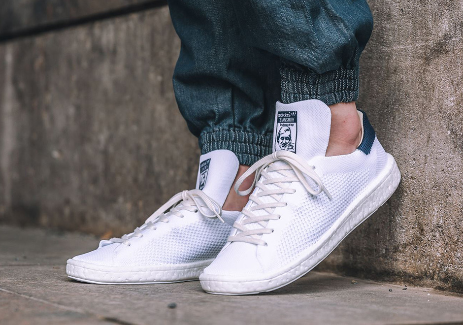 01fa7b55aac adidas Stan Smith Boost Primeknit  150. Style Code  BB0013 (Green) Style  Code  BB0012 (Navy)