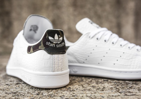 The adidas Stan Smith Is Back In The Perfect Snakeskin And Camo Combination