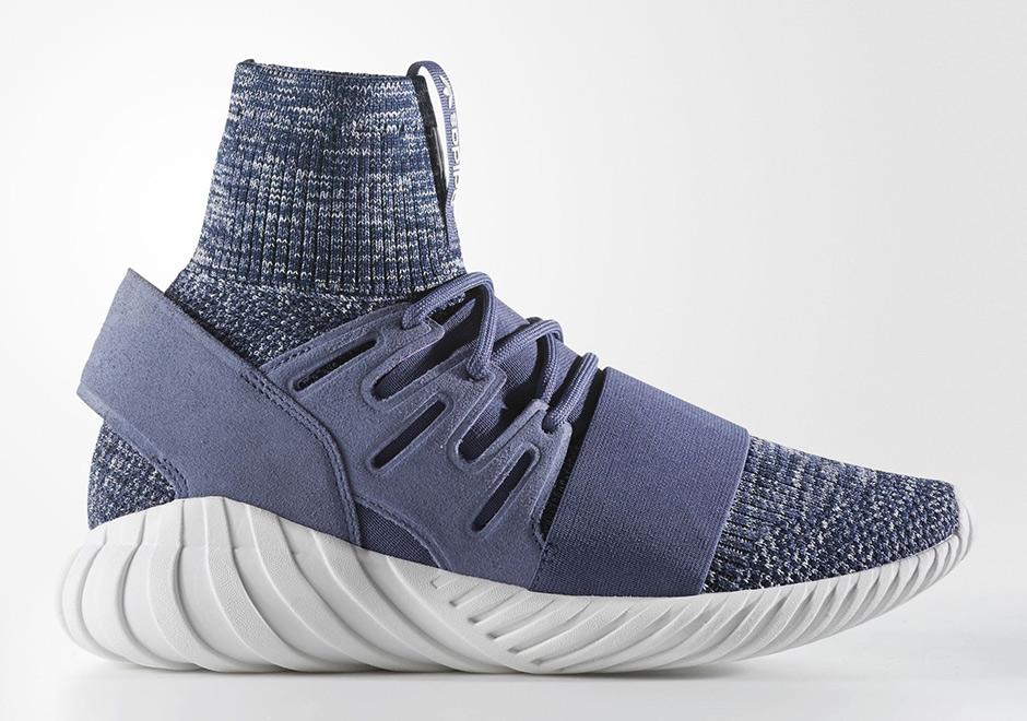 "adidas Tubular Doom Primeknit ""Blue Glow"""