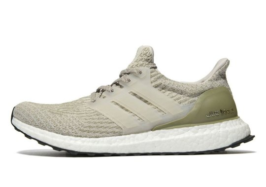 You Haven't Seen Olive Green Used On The adidas Ultra Boost 3.0 Like This Before