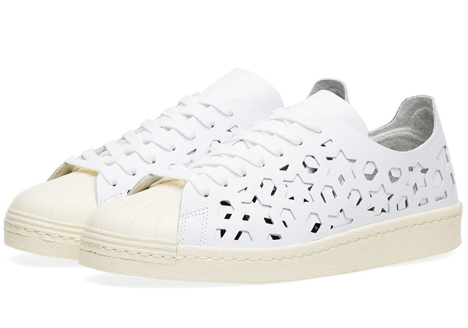 best service 82566 63c77 Ladies can pick up the bold new Superstar Cutout from select retailers  including END.