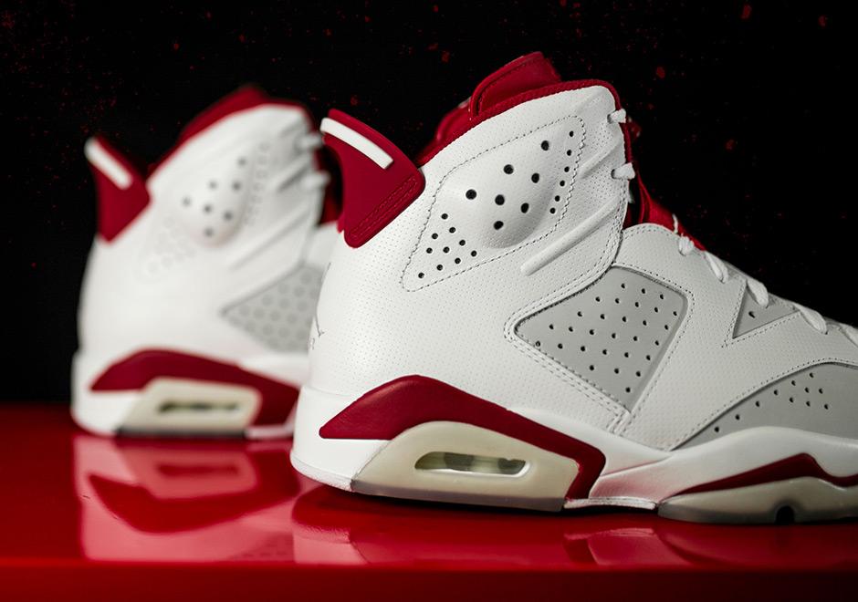 7df868e2756f Cheap Air Jordan 6 Retro  384664-113  Basketball Alternate Hare 1991 White  Red