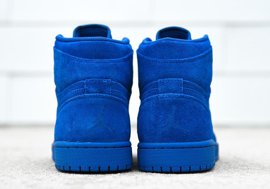 ca090118c2855d Air Jordan 1 Blue Suede Release Date 332550-404