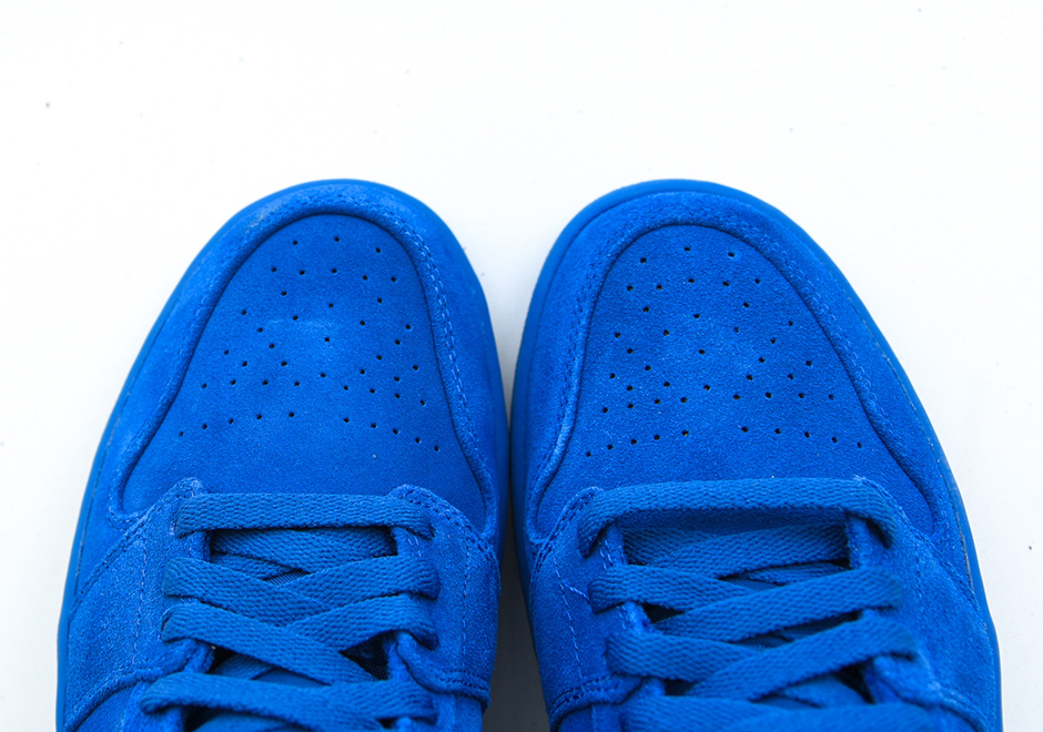 new product 4382a a278d Air Jordan 1 Blue Suede Release Date 332550-404 ...