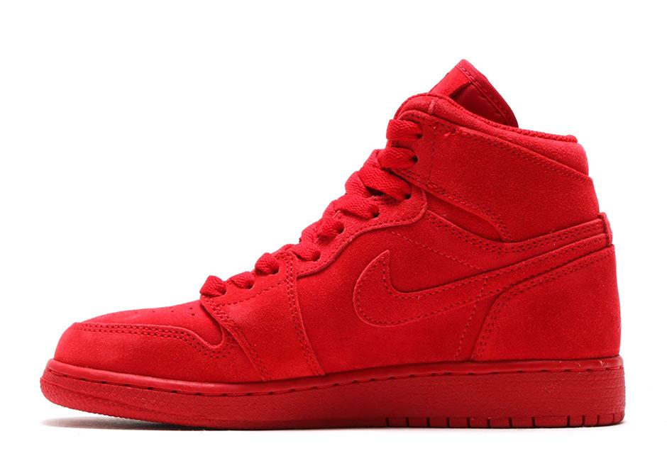 air jordan 1 all red