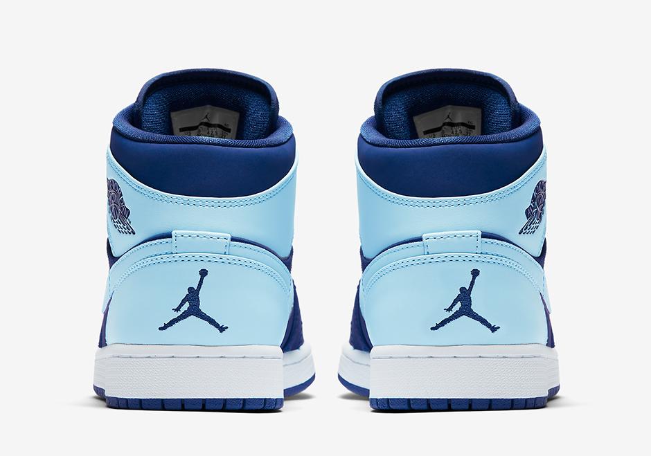 afbee1f6fac Air Jordan 1 Mid Ice Blue 554724-400   SneakerNews.com