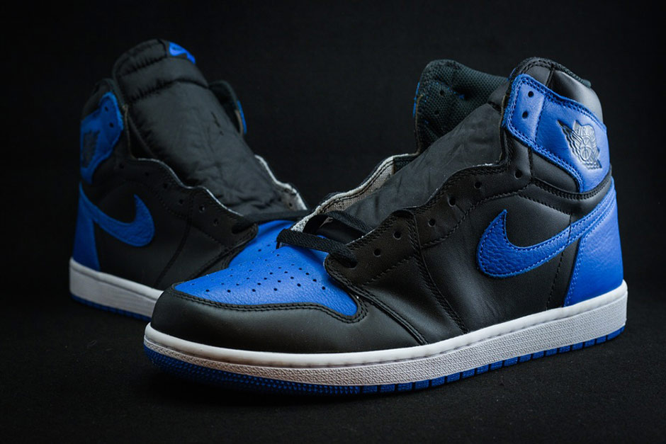 air jordan 1 royal style code sneaker