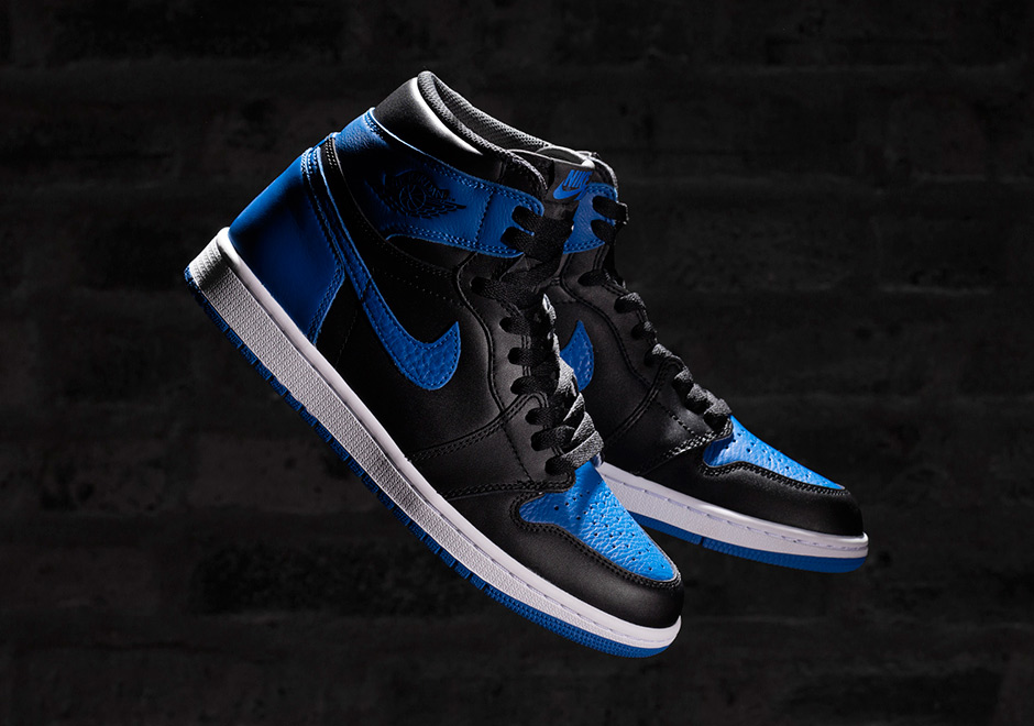 """premium selection 8ccb1 4335f Advertisement. Just how limited will the Air Jordan 1 """"Royal"""" ..."""