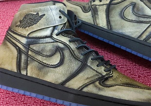0317d7c765fa Air Jordan 1 Wings Premium Leather Retro