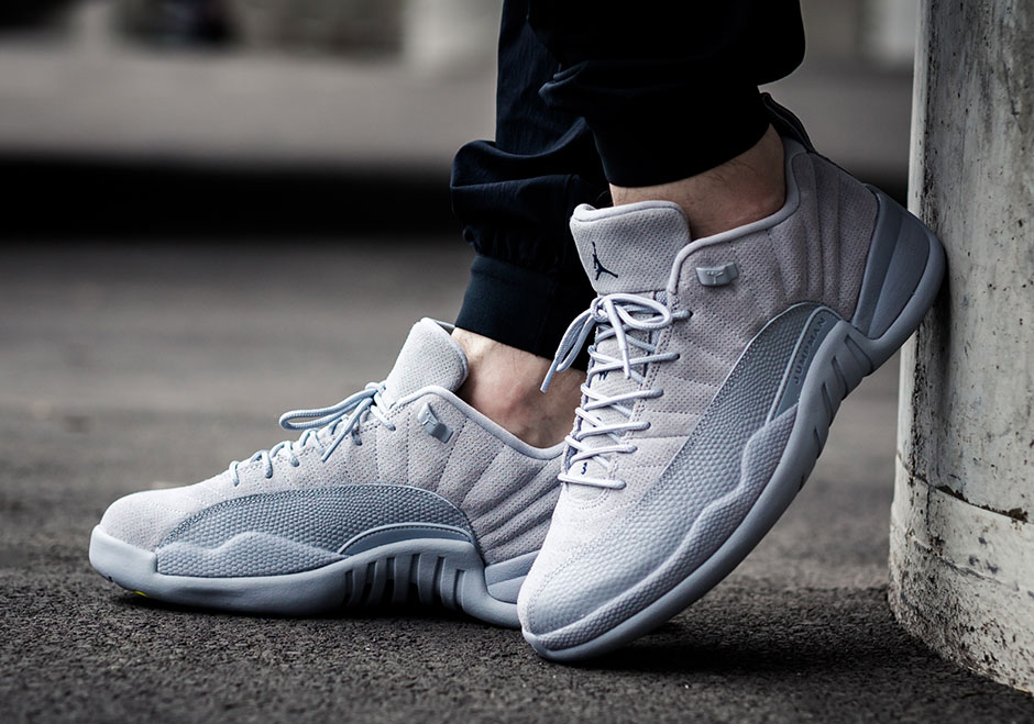 9747fc1c76a Jordan 12 Low Grey Suede 308317-002 Release Date | SneakerNews.com