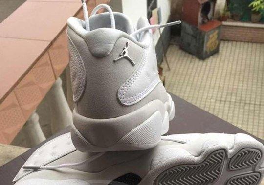 "The  Air Jordan 13 Low ""Metallic Silver"" Is Releasing In May"