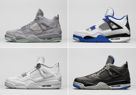 Jordan Brand Wants The Air Jordan 4 To Be The Shoe Of Spring/Summer 2017