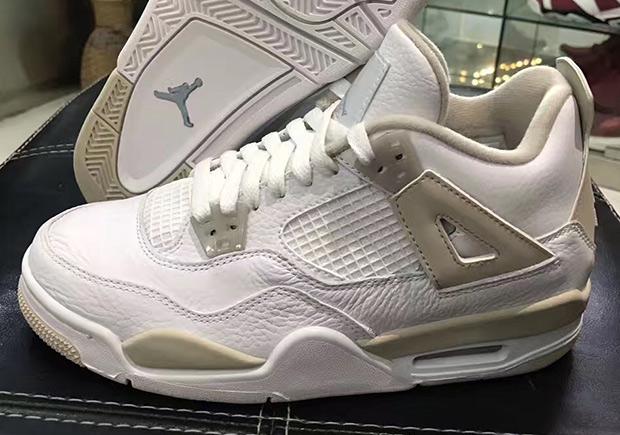 new style bd014 63aa2 Air Jordan 4 Linen GS Sizes 2017 Retro 487724-118 | SneakerNews.com