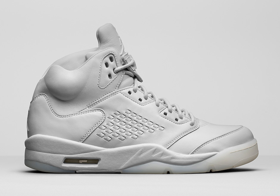 Air Jordan 5 Premium Pure Platinum 881432003