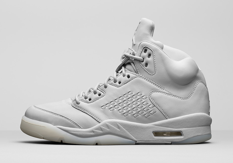 Air Jordan 5 PRM Pure Platinum