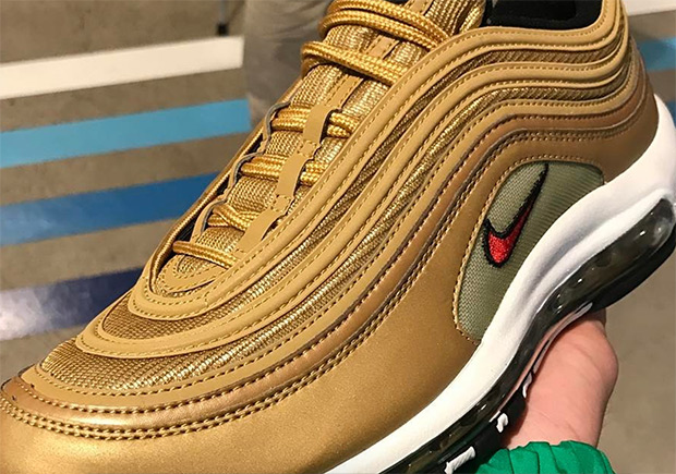 fd007382ead0bc Nike Air Max 97 Gold Europe Release Date