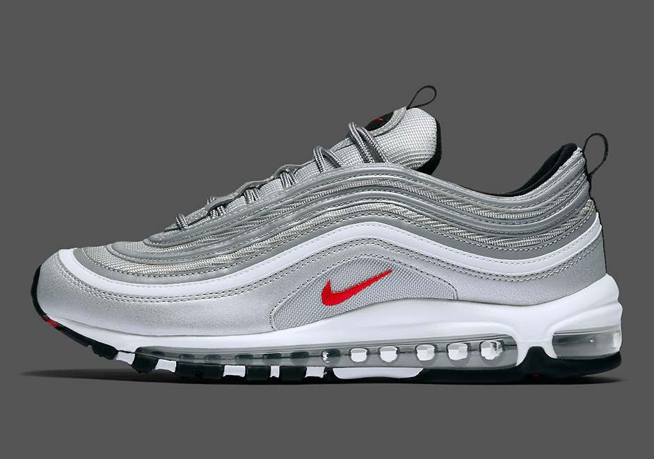 "dae0908a6075 NIKE AIR MAX 97 OG QS ""Silver Bullet"" Release Date  April 13th"