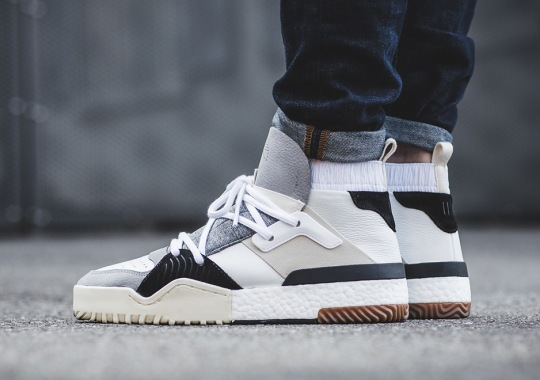 The Alexander Wang x adidas Originals BBALL Boost Releases This Saturday