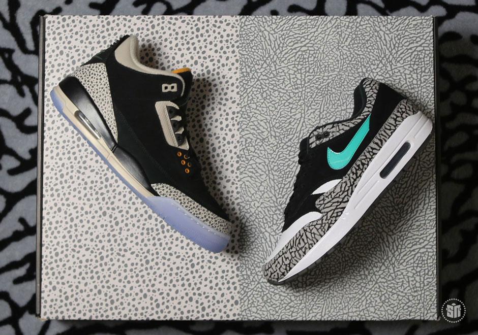 7621c21ce78 atmos Jordan 3 Air Max 1 Pack Release Date Info | SneakerNews.com