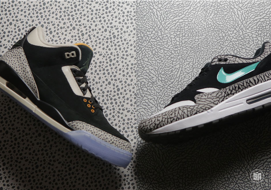 2a457e61aa Atmos x Nike/Jordan Pack Release Date: March 18th, 2017 $400. Color: Multi- Color/Multi-Color Style Code: 923098-900