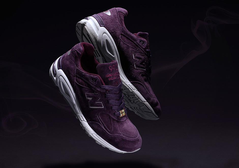 concpets new balance 990v2 tyrian releae date