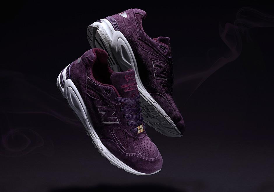 Nuevo Equilibrio 990v2 Púrpura De Tiro z0Mak