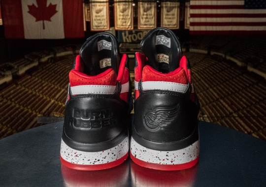 Burn Rubber Celebrates the Detroit Red Wings With Reebok Bolton Collab