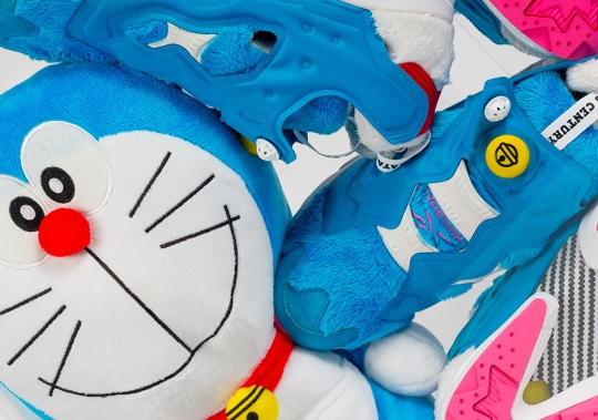 Iconic Anime Character Doraemon Gets A Reebok Instapump Fury Release