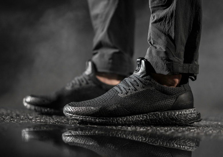 "f86007cb3 Haven And adidas Consortium To Release An Ultra Boost ""Triple Black"""