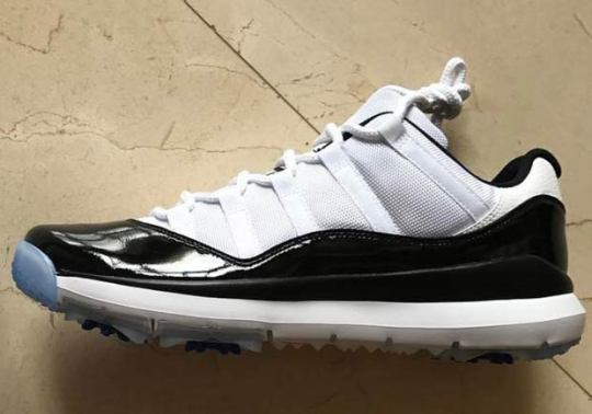 "Dez Bryant Spends His Off-Season In The Air Jordan 11 Low Golf ""Concord"""
