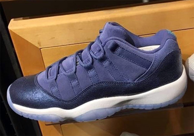 "Updated March 21st, 2017: The Air Jordan 11 Low GG ""Blue Moon"" releases on  April 22nd, 2017 for $130."
