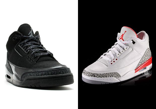 "huge discount 463bc 07cd9 Air Jordan 3 ""Katrina"" And ""Black Cat"" Releasing This Holiday 2017"