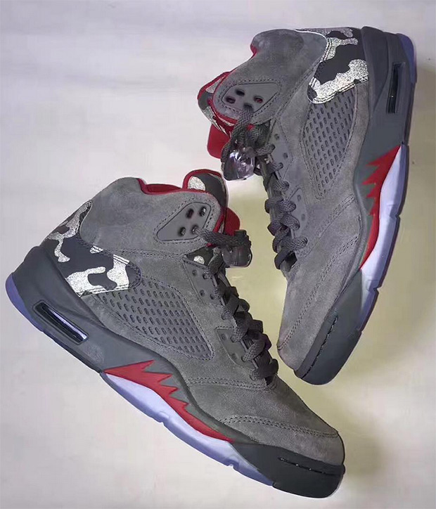 huge discount a9a55 7b505 Air Jordan 5 Camo | SneakerNews.com