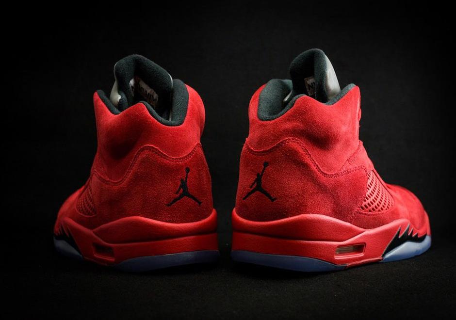 quality design bde06 482b4 Air Jordan 5 Red Suede Release Date 136027-602 | SneakerNews.com