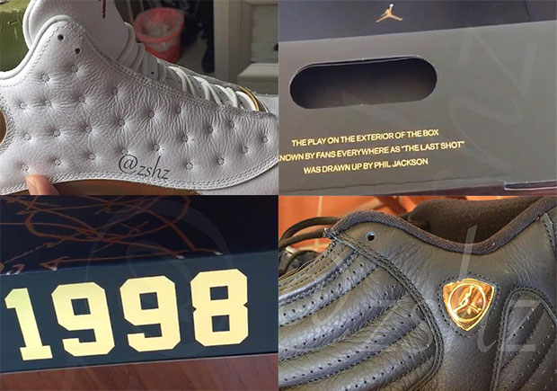 24b7294a92d5 First Look At The Air Jordan 13 14 DMP Pack - SneakerNews.com