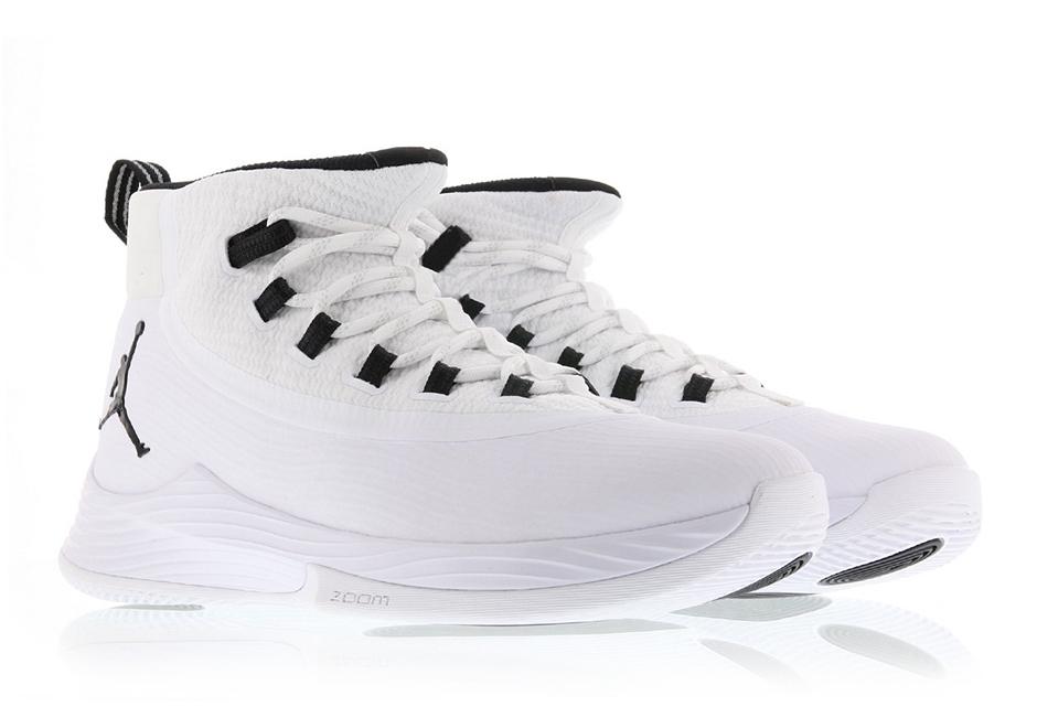 sports shoes d983b 44333 Jordan Ultra Fly 2 White Black 897998-111 | SneakerNews.com