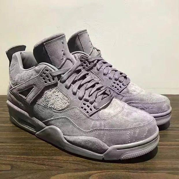 best loved 88834 5bc73 KAWS Air Jordan 4 Sample on eBay | SneakerNews.com