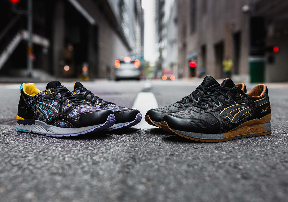 2239e86a14405 ... has teamed up with ASICS once again for an all-new collaboration this  spring. Featuring the brand s two staple models